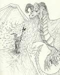 Inktober 19 - Scorched
