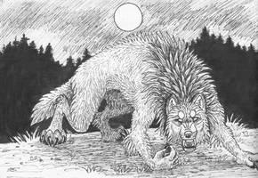 Inktober 16 - Wild