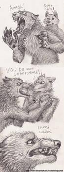 Grump The Werewolf