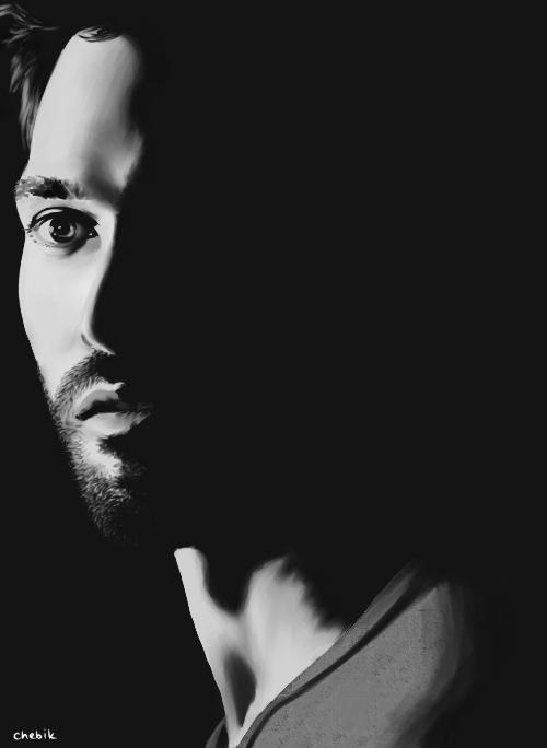 Derek, black and white. by chebikD