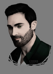 Tyler Hoechlin by chebikD