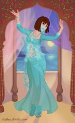 Me as a Belly Dancer by merthurandbeatles