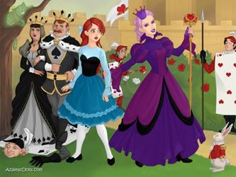 Ariel and Ursula by merthurandbeatles