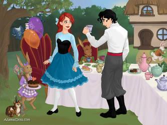 Ariel and Eric by merthurandbeatles