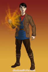 Merlin Sci fi by merthurandbeatles