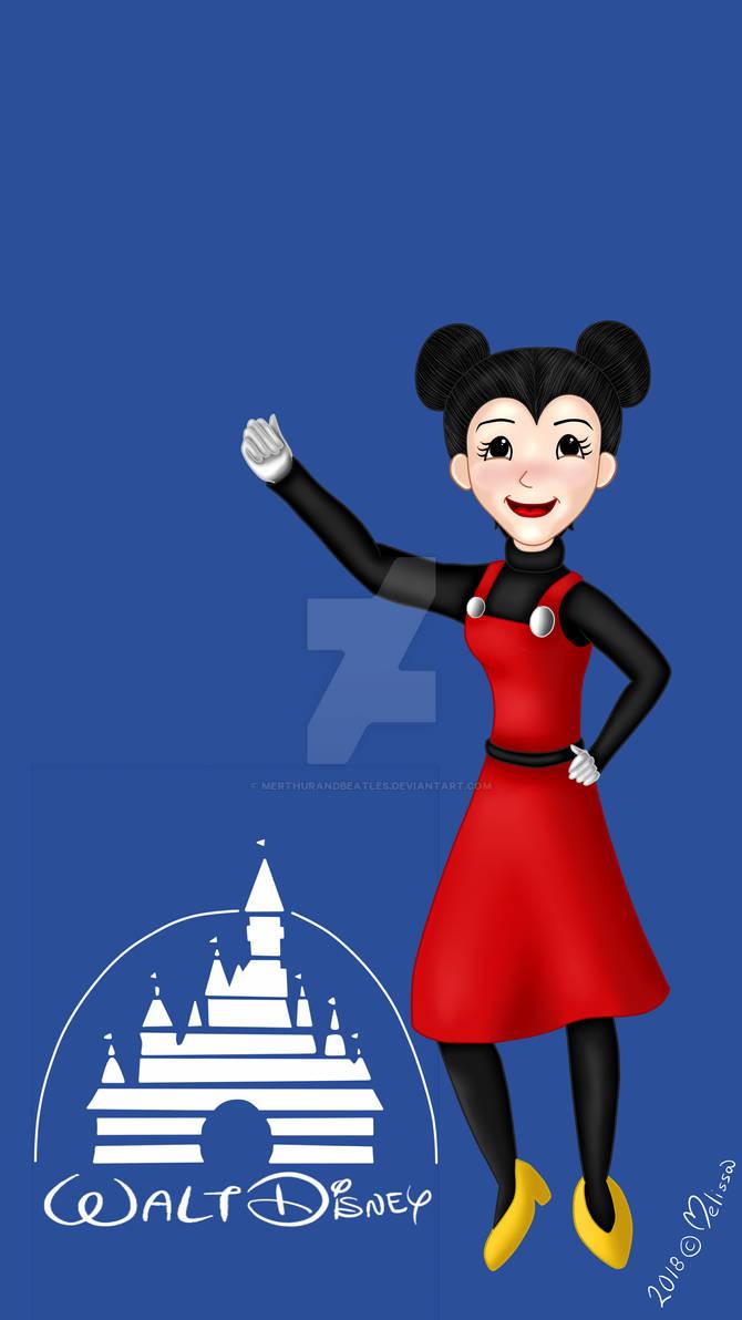 Mickey Humanized Girl 3