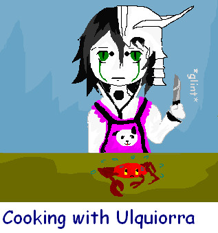 cooking with Ulquiorra Chibbi by go-die-in-hell