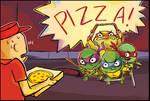 TMNT: pizza