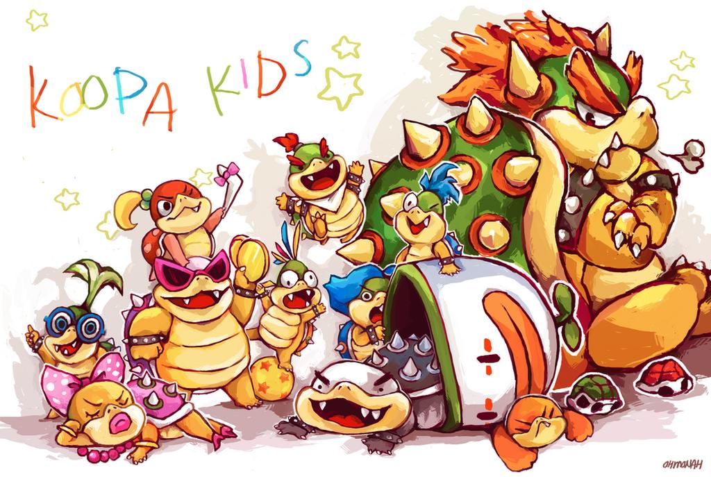 Image result for the koopa kids