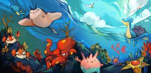 Sea pokemon