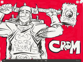 Crom the Barbarian!