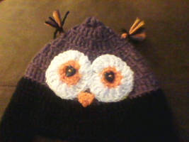 Owl Hat close up by Daddys-Girl1997