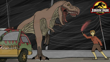 Adventures in Jurassic Park: Tyrannical Troubles