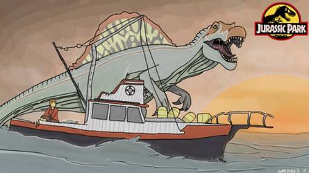 Adventures in Jurassic Park: Spino Showdown