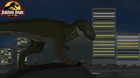 Jurassic June Extras: Rex in San Diego