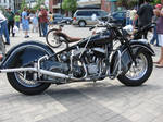 1948 Indian Chief motorcycle.