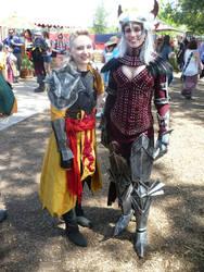 Dragon and Seeker by hmwsgx