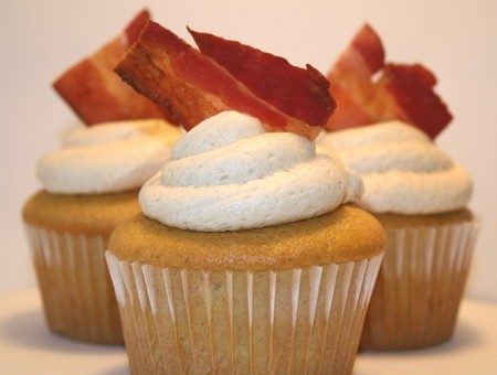 French Toast Bacon Cupcake by Celwind