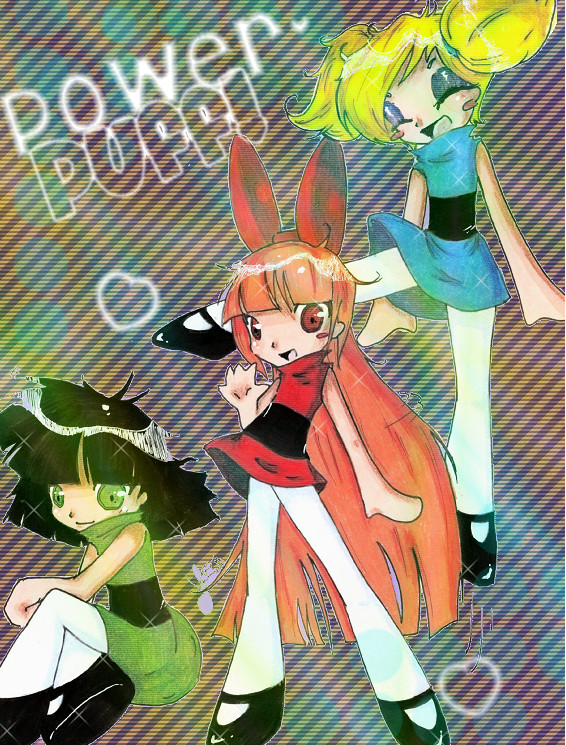 PowerPuff Girls Color. by Sannanai