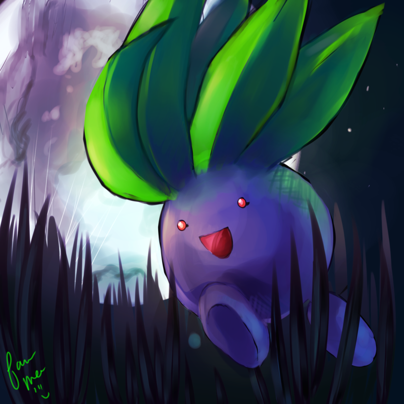 Oddish wallpaper