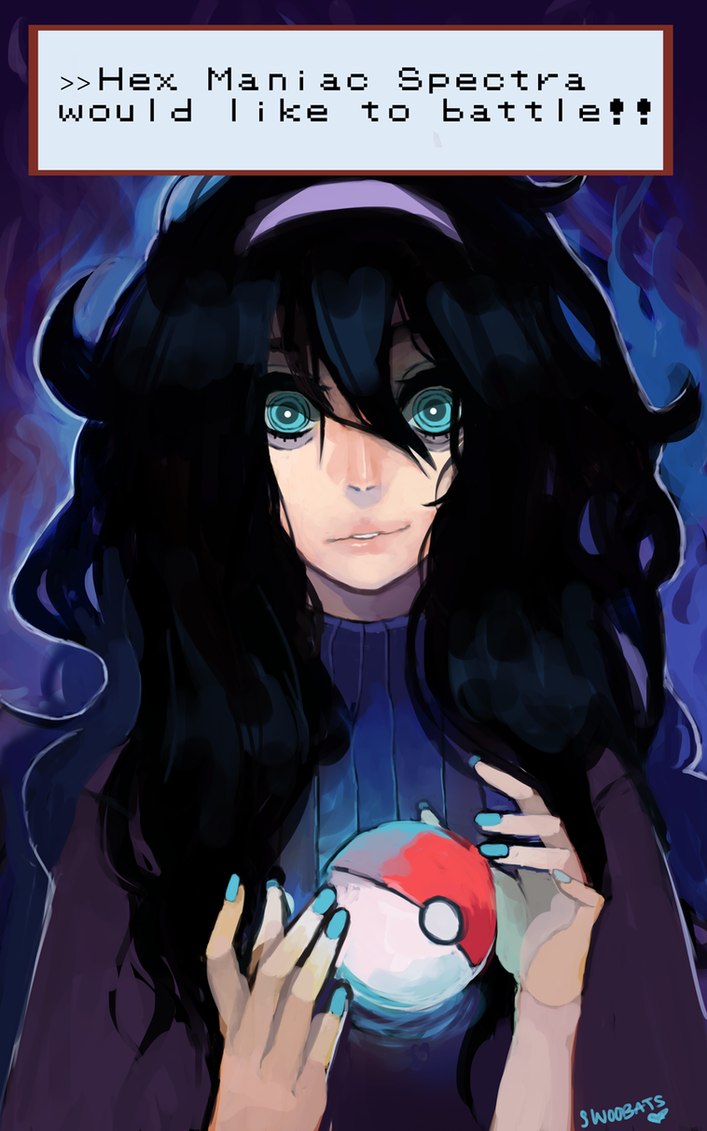 Hex Maniac Spectra would like to battle!!!!! by Sannanai
