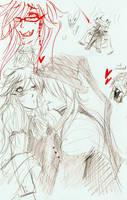 Sketchbook page 1 by Kamirella