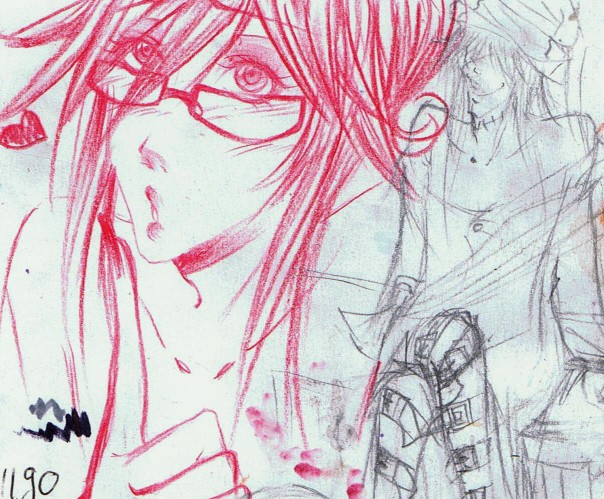 Pussy Grell Sketchy xD by Kamirella