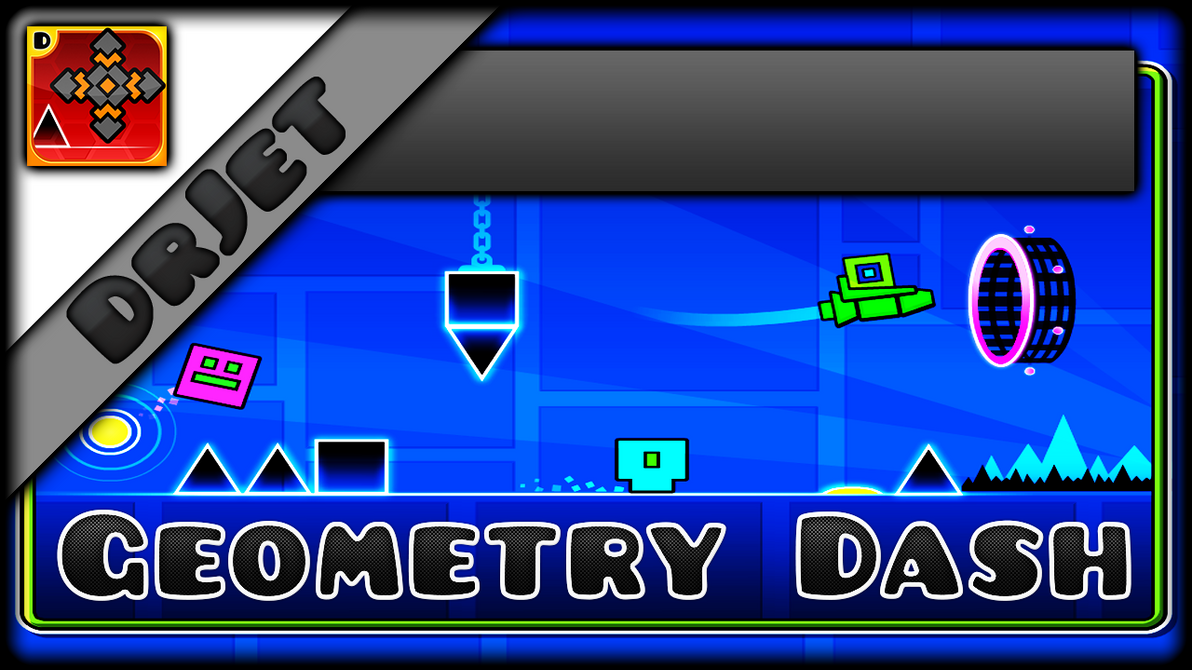 Geometry dash youtube thumbnail template by discernrblx on deviantart