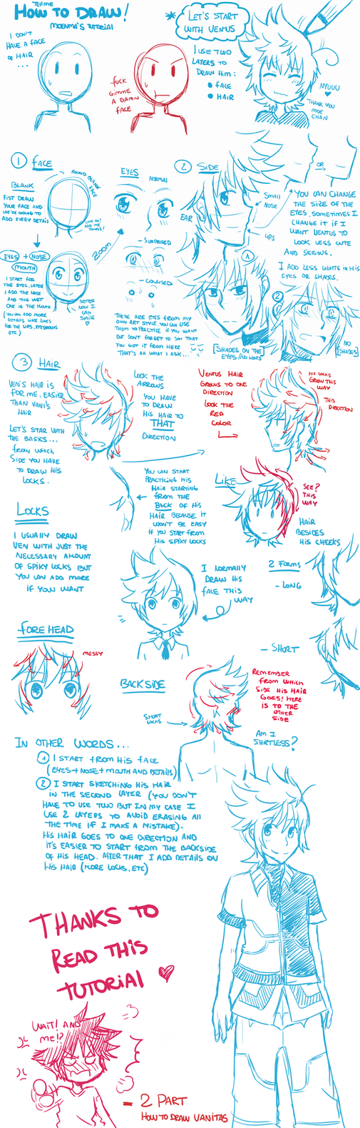 [Tutorial] How to draw - Ventus by moenitas