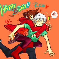 Happy birthday Rikuboo!