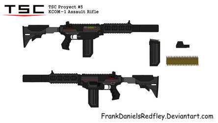 KCOM-1 Assault Rifle by FrankDanielsRedfley