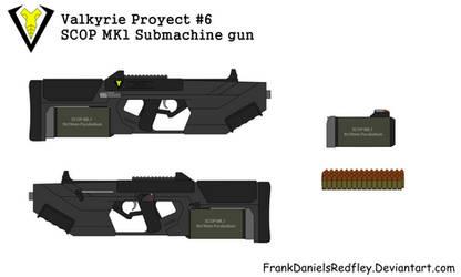 SCOP Mk1 Submachine Gun by FrankDanielsRedfley