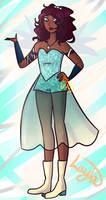 Layla's (Aisha) fairy form redesign (Winx Club)