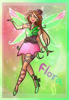 Flora's Enchantix Redesign (Winx Club)