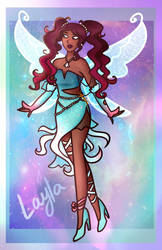 Layla's (Aisha) Enchantix Redesign (Winx Club)