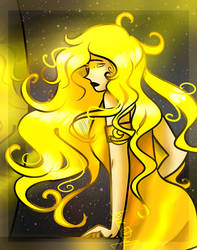 Yellow \\ Bright and golden (Original character)