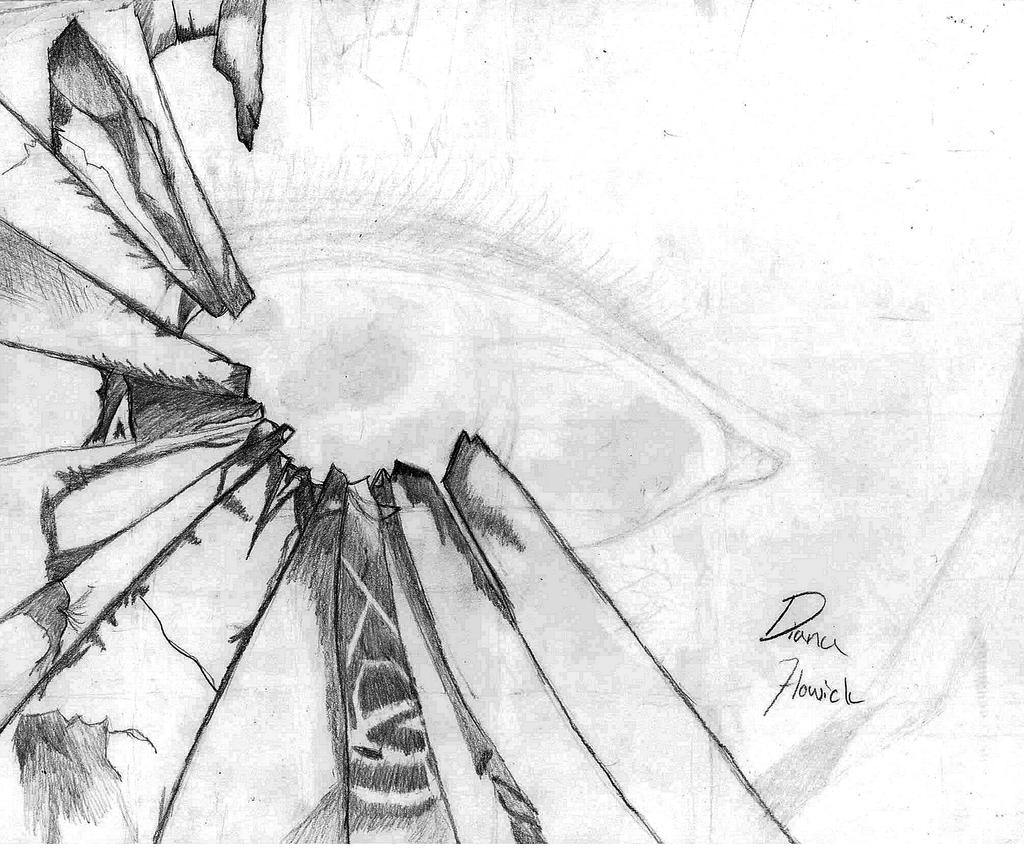 Broken glass by ArtySwiftFox on deviantART