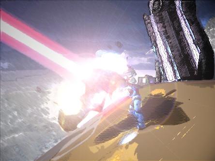 Halo death beam by methados