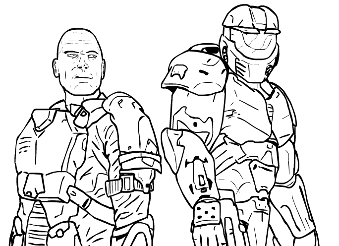 Heros of the UNSC by Methados