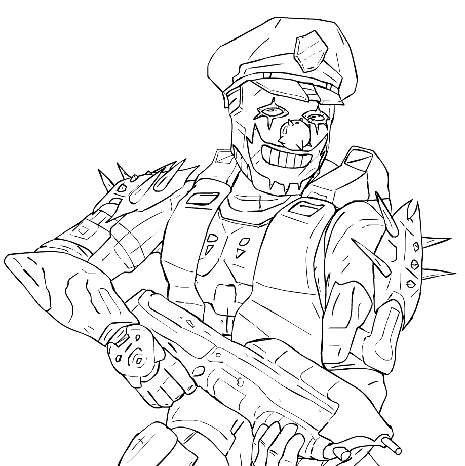 coloring pages halo 3 - photo #35