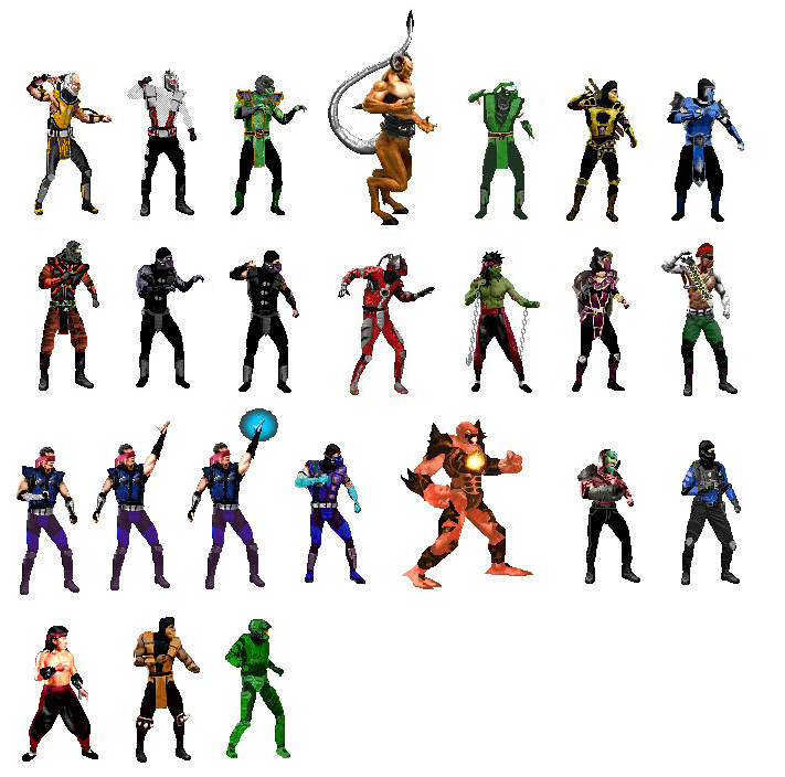 Armageddon Characters for MK3 by Methados on DeviantArt