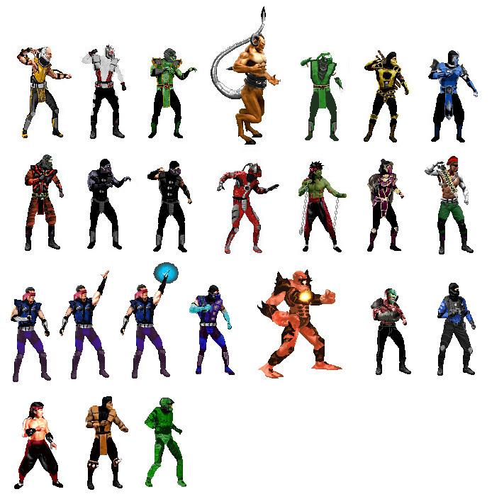 MFG: Mortal Kombat 9 : 1 1 VERSION RELEASED ! - Page 5