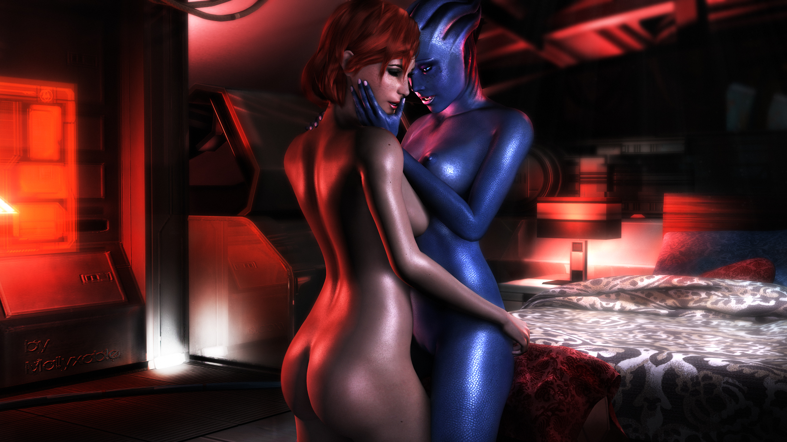 Mass effect erotic hentia comics