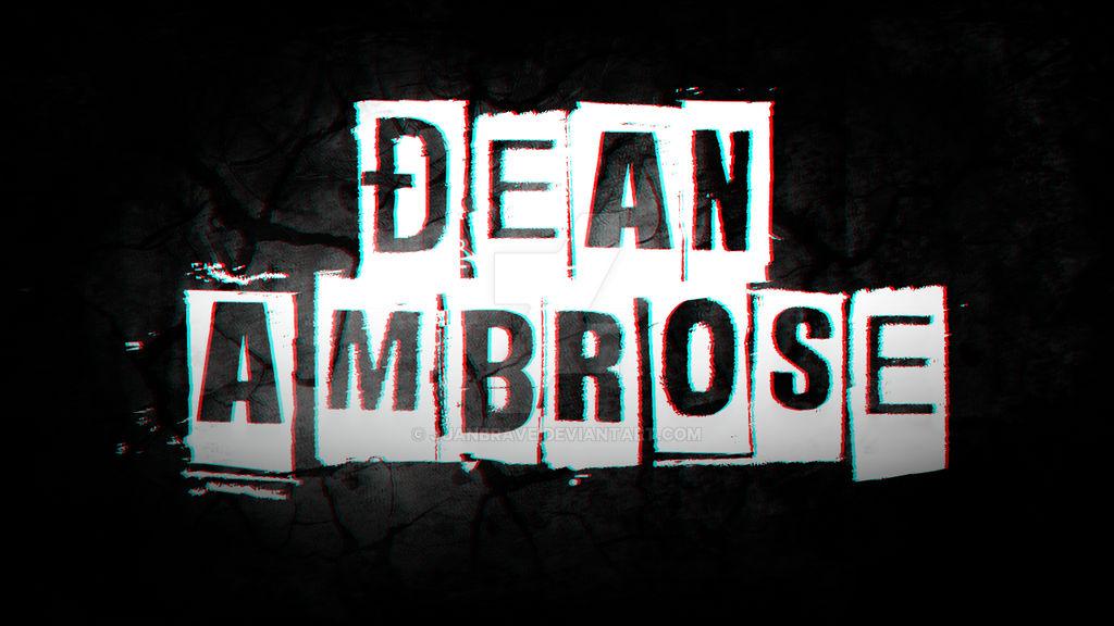 Dean Ambrose GFX Wallpaper