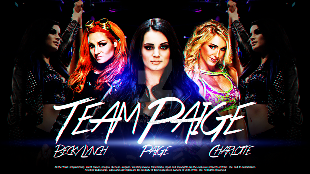 WWE Team Paige Wallpaper By JuanBrave