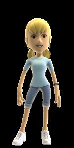 Xbox Avatar by halogirl237