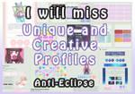Eclipse: Goodbye Customization