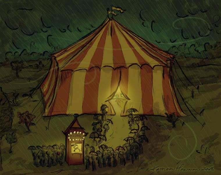 Circus Night by moonfreakformula