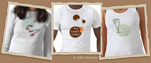 Legal Limit T-Shirts by moonfreakformula