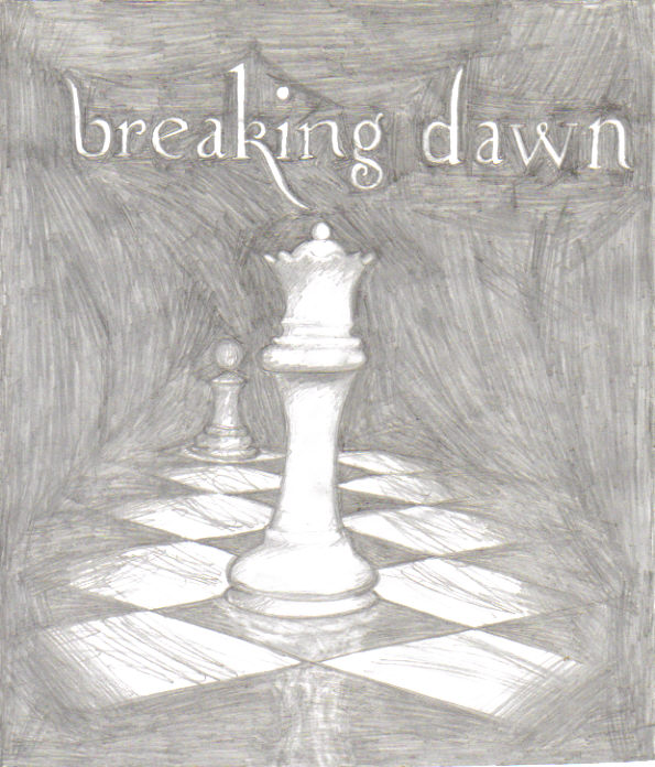 Breaking Dawn Book Cover Drawing : Breaking dawn book cover by doctor k pepper on deviantart
